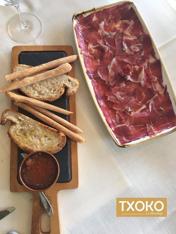 Platos Restaurante Txoko La Moraleja